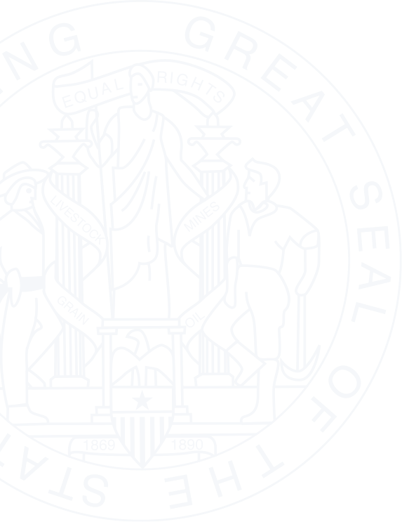 Wyoming State Seal Decorative Background Image